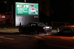 Castrol DOOH Roadside Ad