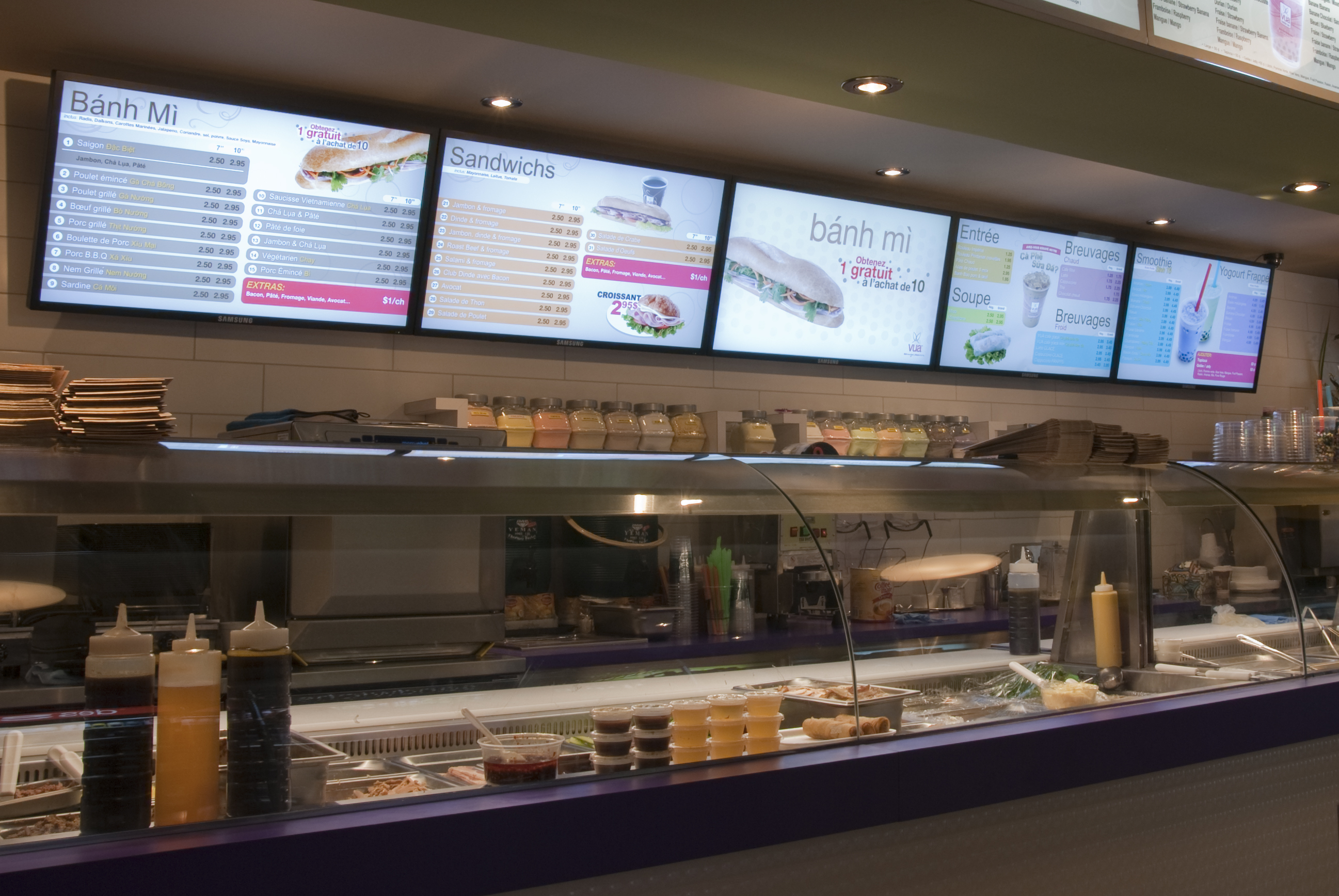1 Vua S Digital Menu Board Digital Signage Blog By