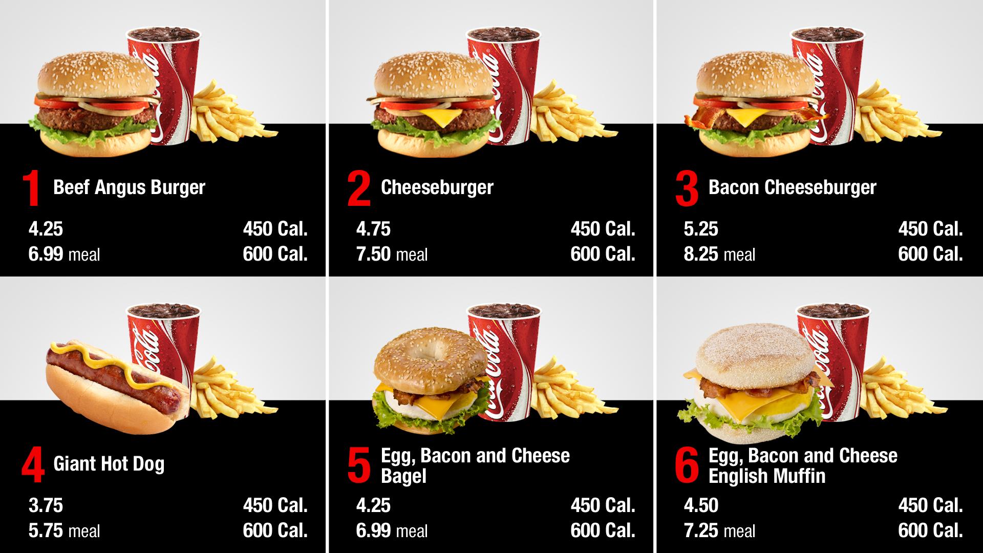 czeshop images fast food menu board design