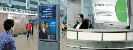 Corporate & Mall Digital Signage